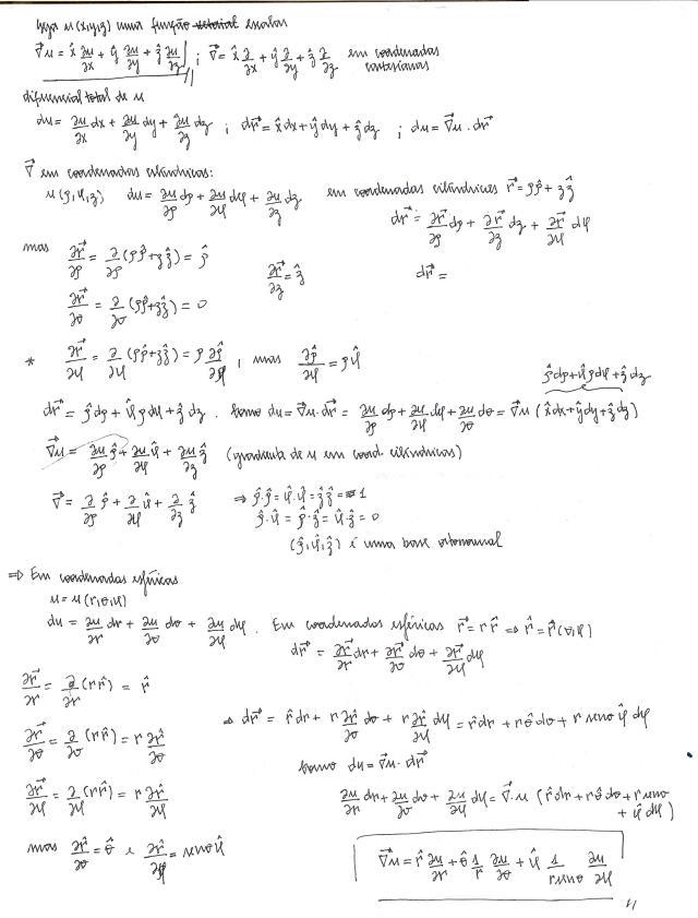 coord esfericas cilindricas gradiente
