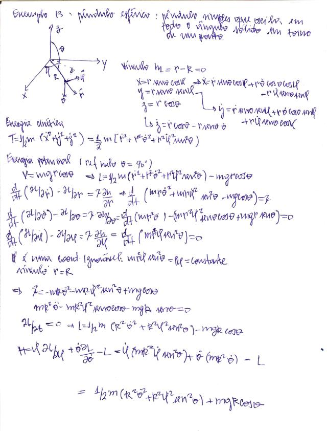 pêndulo esférico